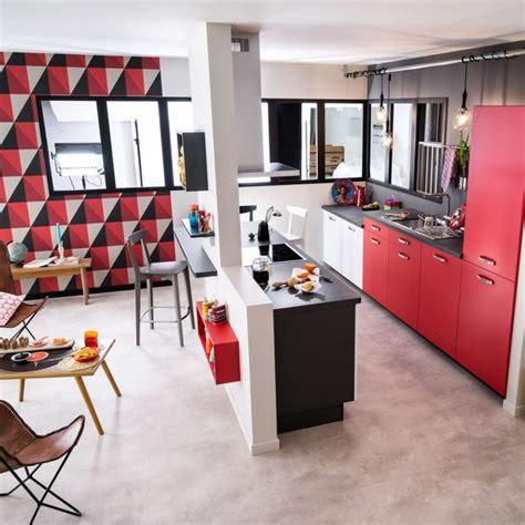 plans de cuisines ouvertes plan salon cuisine sejour salle manger dootdadoo com idées de conception sont intéressants à