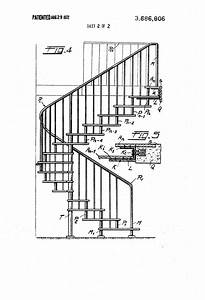 Patent US3686806 - Spiral staircase with access way ...