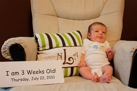 Life With The Ledfords Three Weeks Old