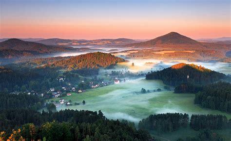 Die schweiz hat als nachbarn deutschland, frankreich, italien, liechtenstein und österreich. Sonnenuntergang Sächsische Schweiz Böhmische Schweiz ...