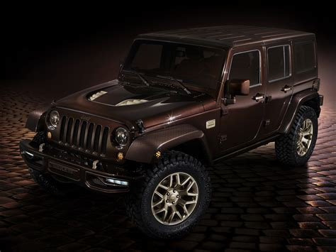 matte brown jeep chinese inspired jeep concepts revealed at beijing
