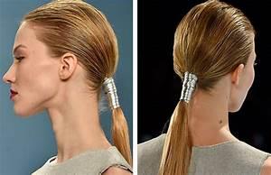Coiffure Queue De Cheval : tendance coiffure 5 fa ons de porter la queue de cheval ~ Melissatoandfro.com Idées de Décoration