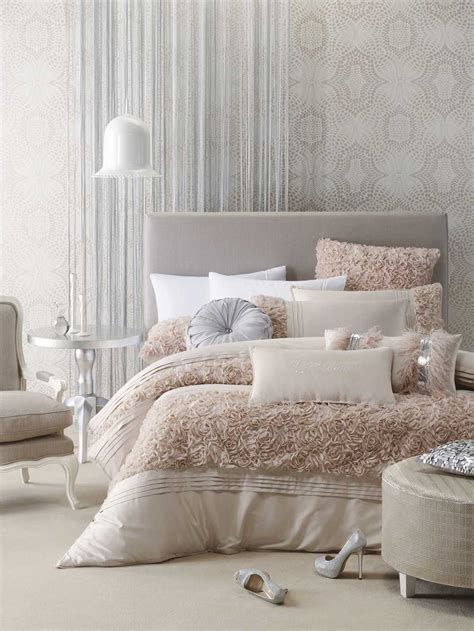 glam bedroom set and turquoise bedding glam decor