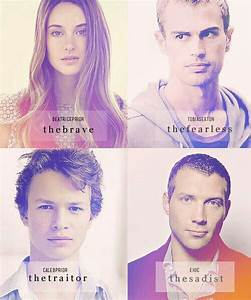 Divergent Chara... Divergent Character Quotes
