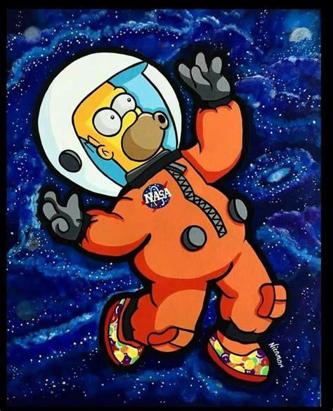 Su actor deja los simpson porque lo acusan de racista. Homero Astronauta | Dibujos de los simpson, Fondos de los ...
