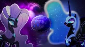 Nightmare Moon And Rarity Friendship Magic #aGLm