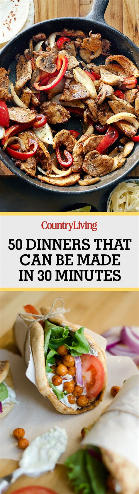 different dinners to make 90 quick and easy dinners best recipes for 30 minute meals