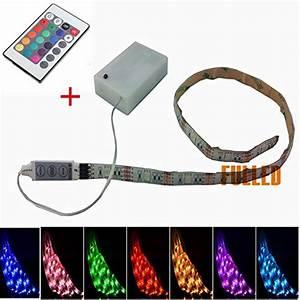 Led Lichtband Mit Batterie : led strip solmore led streifen strips 150cm smd 5050 rgb ~ Jslefanu.com Haus und Dekorationen