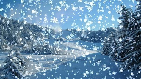 Animated Snow Wallpaper - desktop wallpaper winter 183