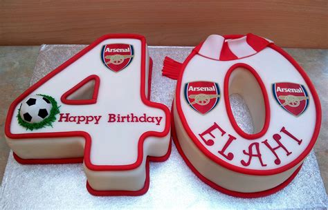 40th birthday cakes from sweet sweet tracey cakes arsenal 40th birthday cake football