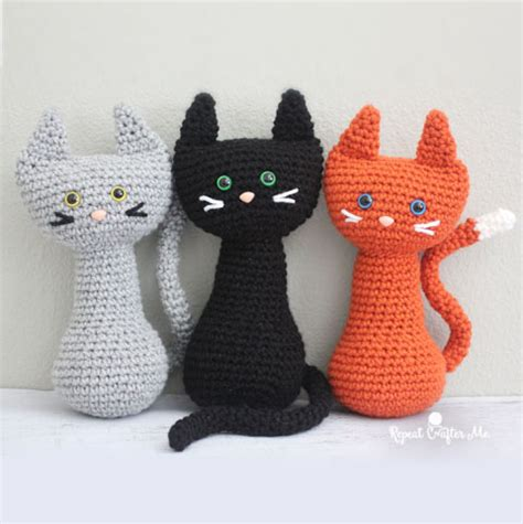 of a guru purrfect cat free amigurumi pattern