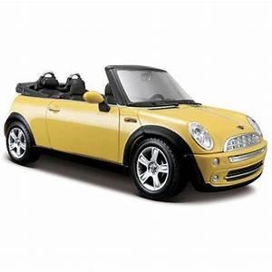 Maisto Mini Cooper Cabrio 2004 1 24 Model Araba S  E Sar U0131