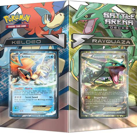 Pokemon Tcg Battle Arena Decks Keldeo Vs Rayquaza Card