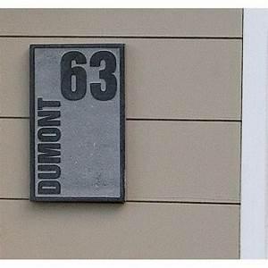 Plaque Numero Maison : plaque num ro de maison avec nom et num ro personnalis s ~ Teatrodelosmanantiales.com Idées de Décoration