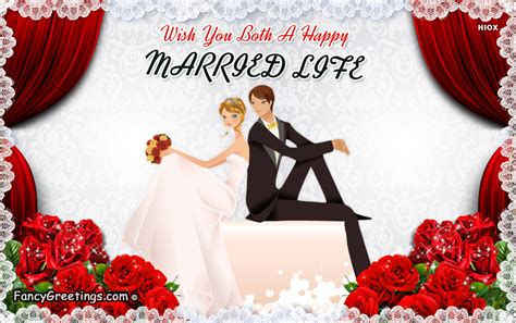 happy married life ecard greeting card  fancygreetingscom