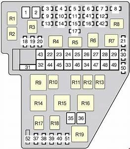 2004 Toyota Sienna Xle Fuse Diagram