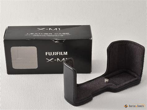 fujifilm   leather case sunrise camera