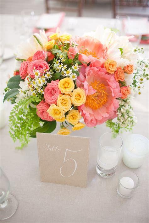 summer flower arrangements ideas summer wedding centerpieces ideas