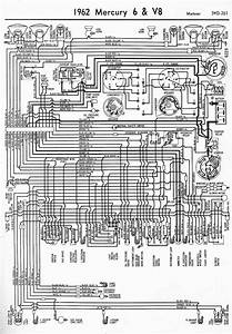 Proa  1962 Mercury 6 And V8 Meteor Wiring Diagram