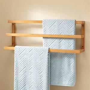 Aldona, Bamboo, Towel, Rack