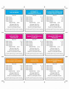 design technology education how to make harry potter With monopoly property cards template