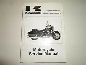 2000 2004 Kawasaki Vulcan 1500 Nomad Fi Vn1500 Classic
