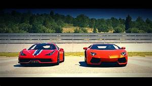 Ferrari Vs Lamborghini : forza horizon 2 ferrari 458 speciale vs lamborghini aventador drag race youtube ~ Medecine-chirurgie-esthetiques.com Avis de Voitures