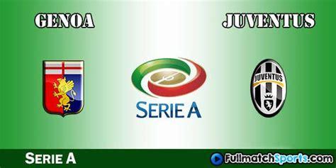 Genoa vs Juventus Full Match 2016-17 • fullmatchsports.co