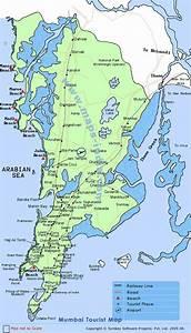 Mumbai Tourist Map ,Tourist Map Mumbai