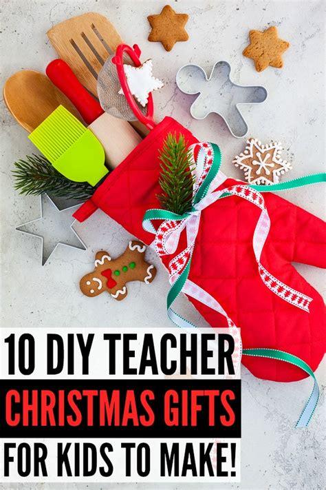 cheap teacher christmas gifts 15 diy gifts