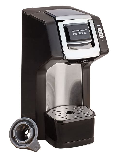 Hamilton beach coffee maker wont brew, you hear the coffie starting to flow down but then it just stops , if you press the i went to hamilton beach site and read the troubleshooting. Hamilton Beach Single-Serve Coffee Maker   CarolWrightGifts.com