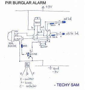 How To Make A Simple Pir Burglar Alarm