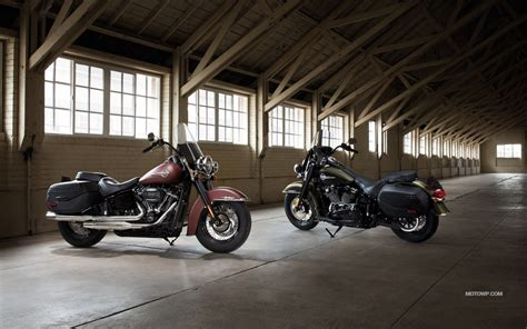 Harley Davidson Heritage Classic Backgrounds by Motorcycles Desktop Wallpapers Harley Davidson Heritage