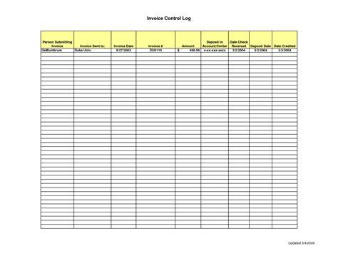log template invoice log template free printable invoice