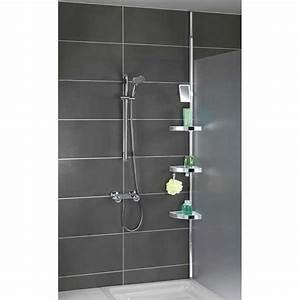 Etagere Dans La Douche : etag re de douche t lescopique inox am nagement de la ~ Edinachiropracticcenter.com Idées de Décoration