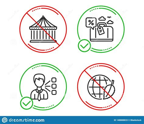 Third Party, Carousels And Travel Loan Icons Set ...