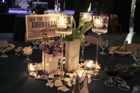 Purple & Blue Country Music Wedding