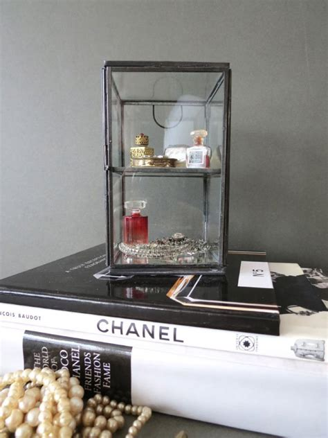 Table Top Glass Display Cabinet Ebay