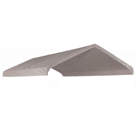 shelterlogic  canopy replacement cover white