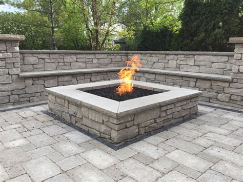 Pavestone Brick Paving Chicago  Brick Paved Fire Pits
