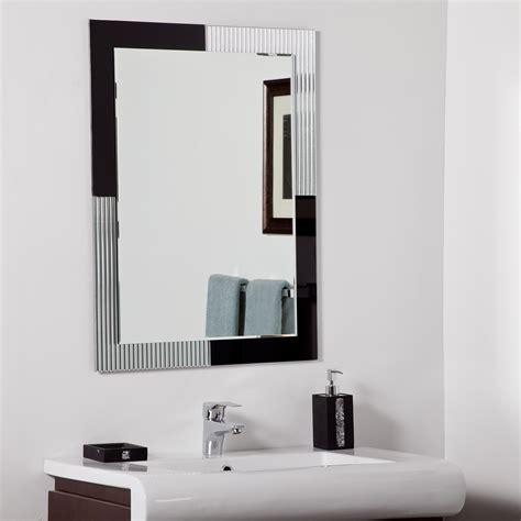 Decor Wonderland Jasmine Modern Bathroom Mirror Beyond