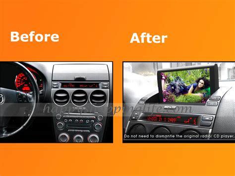 auto radio dvd player  gps navigation  mazda