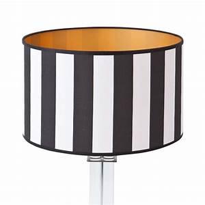 Lampenschirm Schwarz Weiß Gestreift : lampenschirm schwarz wei rund 35 x 20 cm online shop direkt vom hersteller ~ Bigdaddyawards.com Haus und Dekorationen