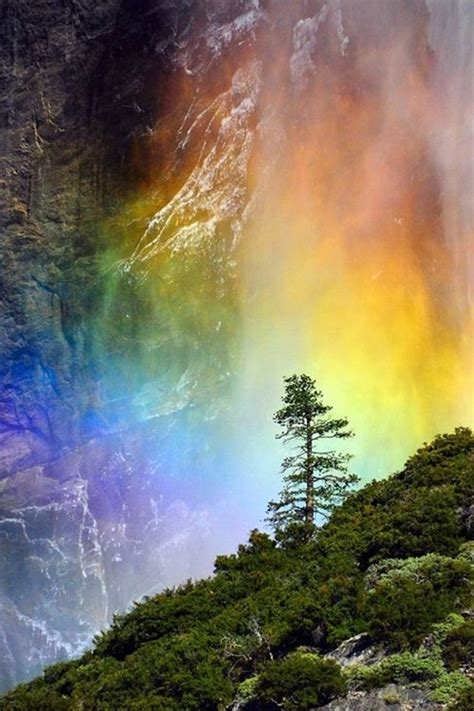 Yosemite Falls Rainbow Flickr Photo Sharing Awesome