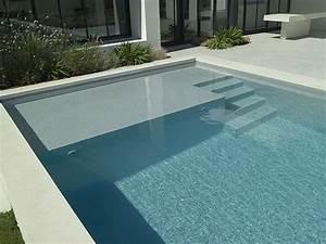 Mini Piscine Enterrée : piscine enterr e en b ton d 39 ext rieur escalier ~ Preciouscoupons.com Idées de Décoration