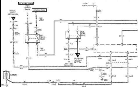 Ford Gas Engine Wiring Diagram Pump