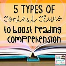 Upper Elementary Snapshots 5 Types Of Context Clues To Boost Reading Comprehension