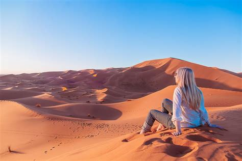 Camping In The Sahara Desert Morocco Heart My Backpack