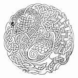Coloring Mandala Celtic Printable Pages Printablee Adult sketch template