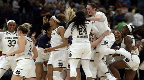 baylor notre dame womens title tampa